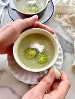 Healthiest white soup