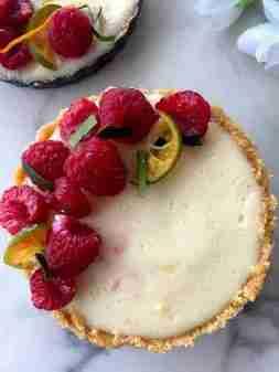 5 ingredient no bake lemonposset tart
