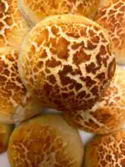 Tiger/giraffe buns – Dutch crunch bread