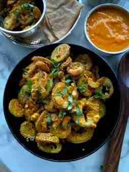 Kantola nu shaak, Gujarati style